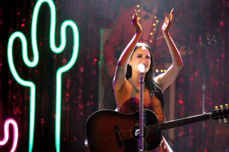 Kacey Musgraves performs at the Kalamazoo State Theatre on Thursday, Feb. 25, 2016. (Chelsea Purgahn/Kalamazoo Gazette)
