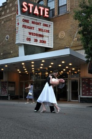 Kalamazoo-State-Theatre-exterior-wedding