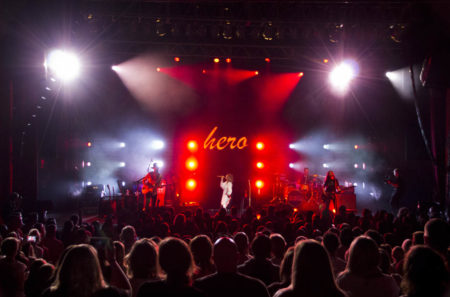 Maren Morris performs during the Hero Tour at the State Theatre in Kalamazoo, MI on October 5, 2017