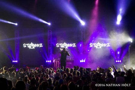 Starrz performs at the State Theatre in Kalamazoo, MI on October 16, 2016