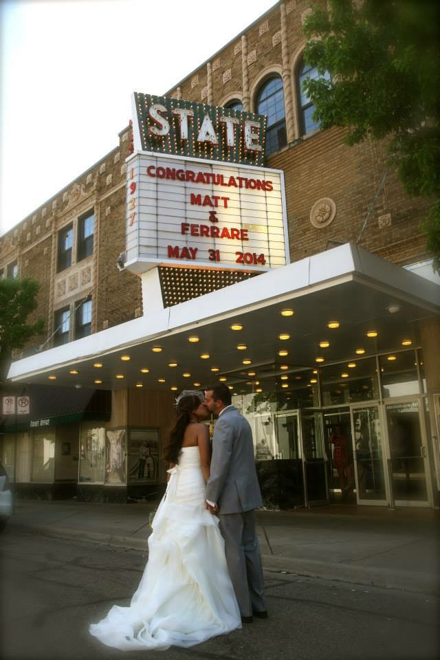 Kalamazoo Wedding Venue Rental at the State Theatre