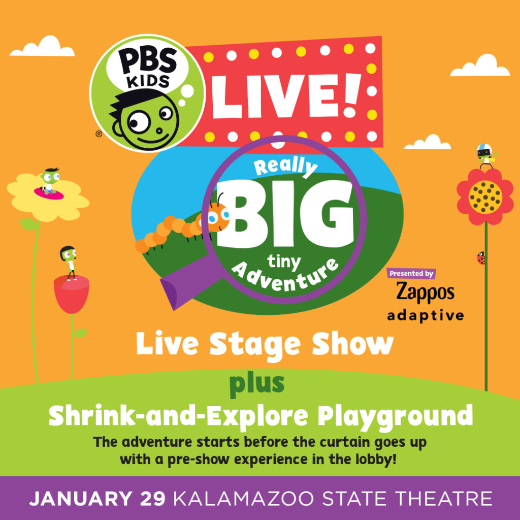 PBS KIDS Live! Really BIG tiny Adventure Presented by Zappos Adaptive